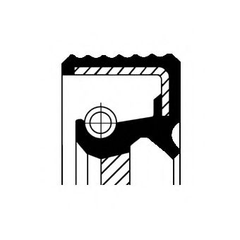 Уплотняющее кольцо, распределительный вал